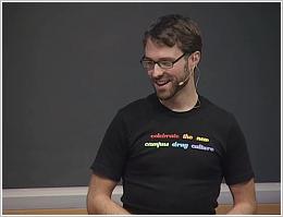 Mike Gretes at TerryTalks, November 2008