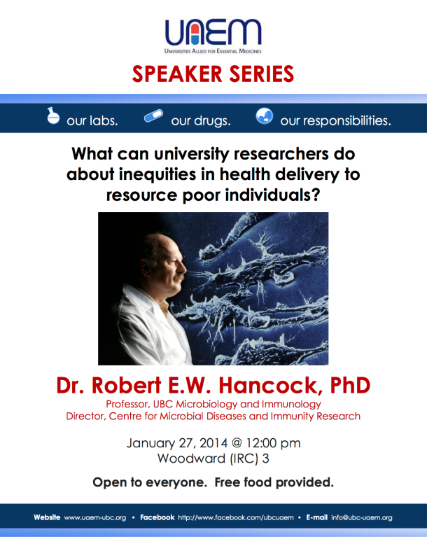 Speakers' Series 2014 Poster - Hancock